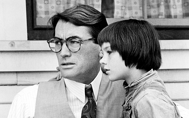 'To Kill A Mockingbird' Film - 1962...No Merchandising. Editorial Use Only Mandatory Credit: Photo by Everett Collection / Rex Features ( 549137g ) 'To Kill A Mockingbird', Mary Badham, Gregory Peck 'To Kill A Mockingbird' Film - 1962